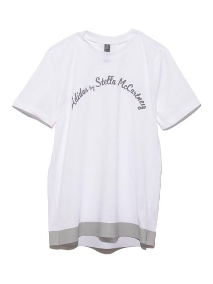 【adidas by Stella McCartney】LOGO TEE(WHT-M)