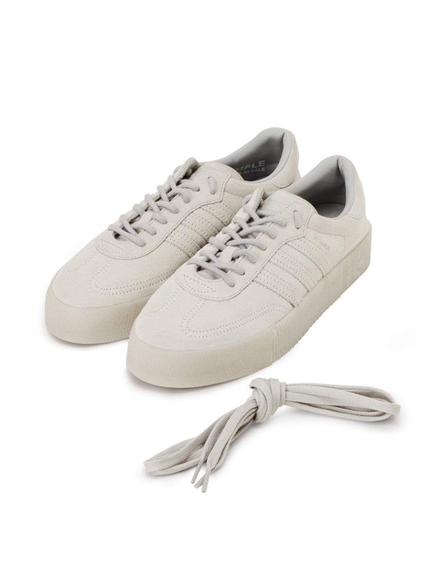 【adidas Originals for emmi】SAMBAROSE W(GRY-22.5)