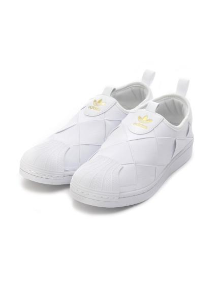 【adidas Originals】SUPERSTAR SLIP ON W(WHT-22.5)