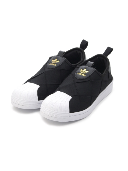 【adidas Originals】SUPERSTAR SLIP ON W(BLK-22.5)
