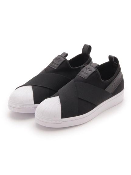 【adidas Originals】SST SLIP ON(BLK-22.0)