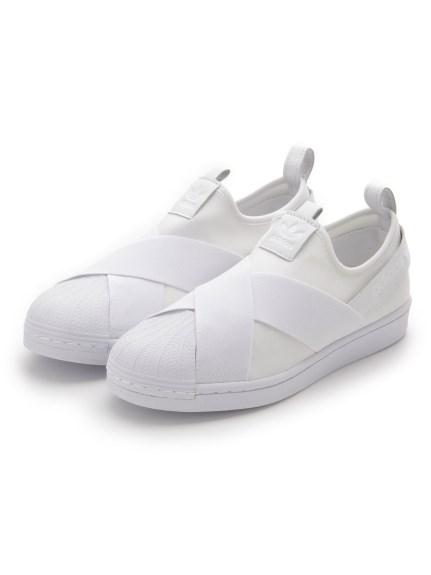 【adidas Originals】SST SLIP ON(WHT-22.0)