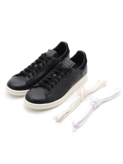 【adidas Originals】STAN SMITH(BLK-22.5)