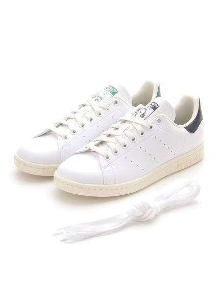 【adidas Originals】STAN SMITH(WHT-22.0)