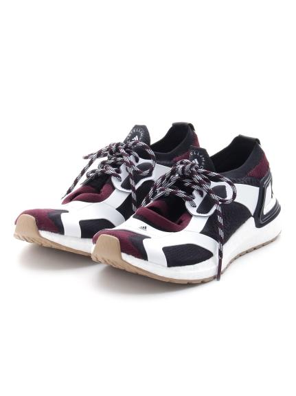 【adidas by Stella McCartney】aSMC UltraBOOST Sandal(BLKxWHT-23.0)