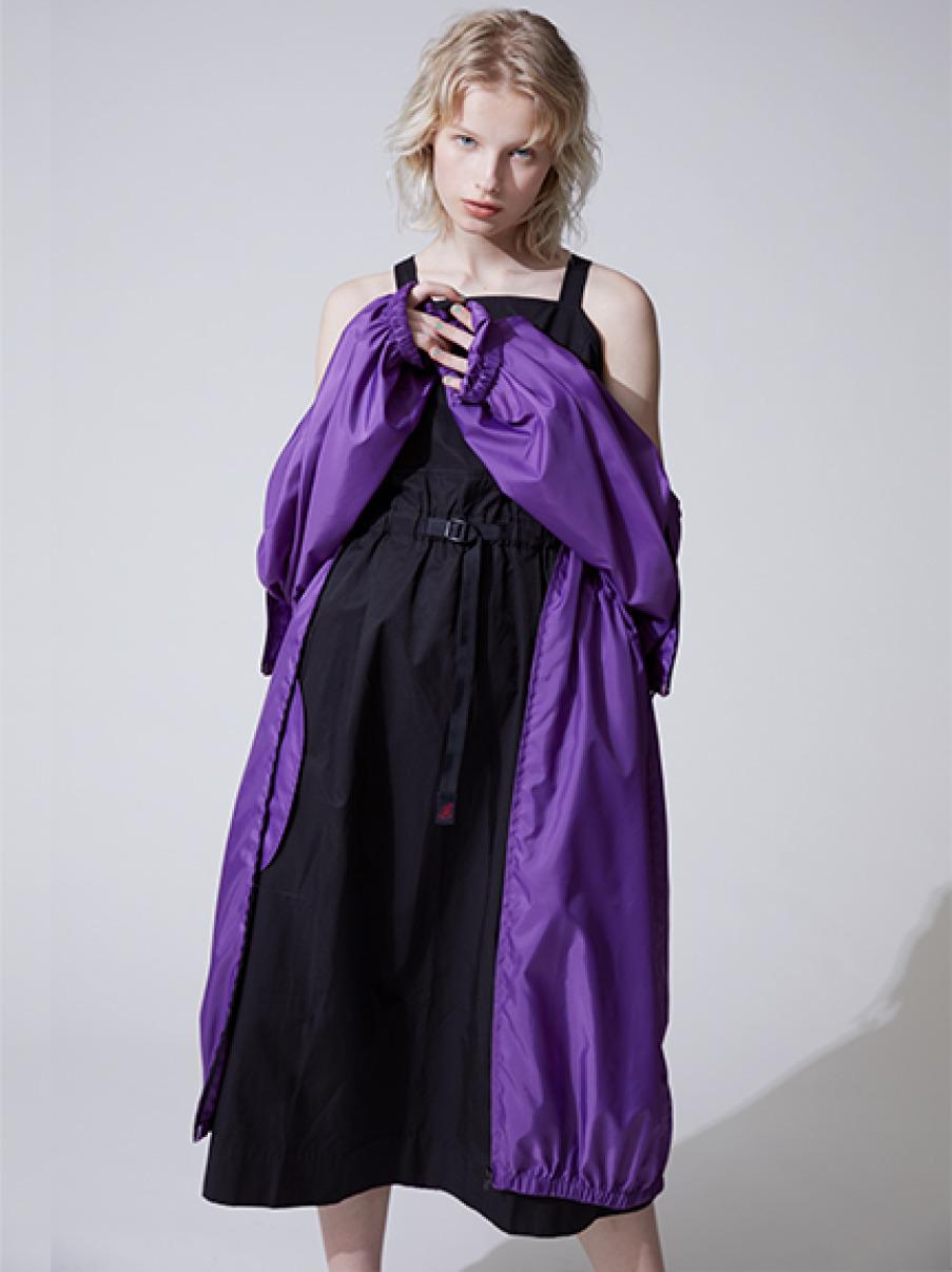 【GRAMICCI×emmi】ワンピース(BLK-S)