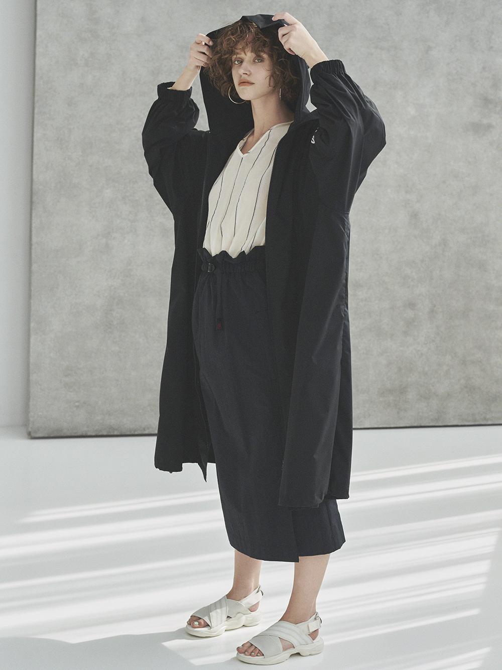 【GRAMICCI×emmi】スカート(BLK-S)
