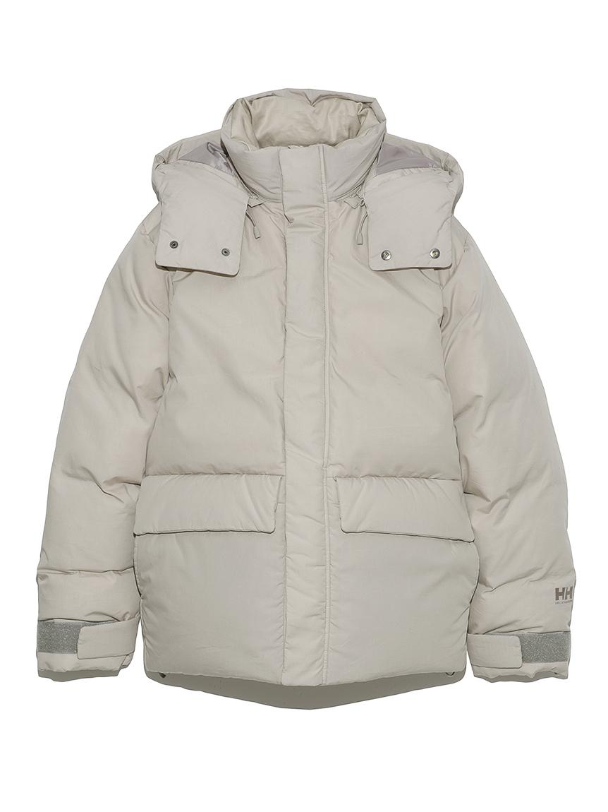 【HELLY HANSEN】Arendal down jacket_emmi atelier(GRY-M)