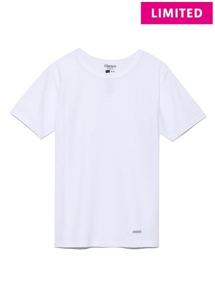 【Hanes×emmi】COLORS crew neck T-shirts / emmi