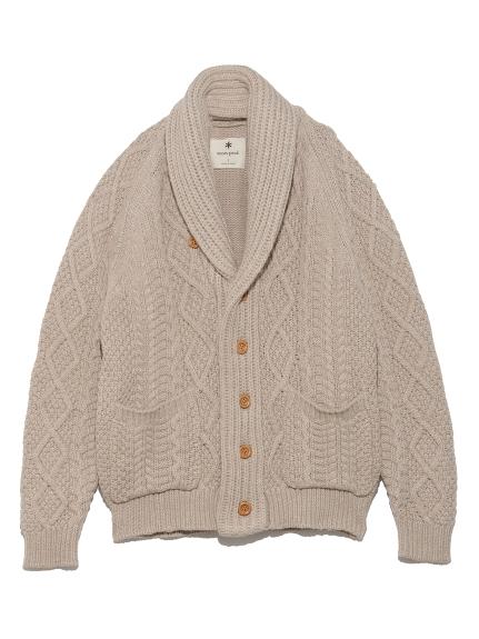 【SnowPeak】Alpaca Knit Cardigan(IVR--)