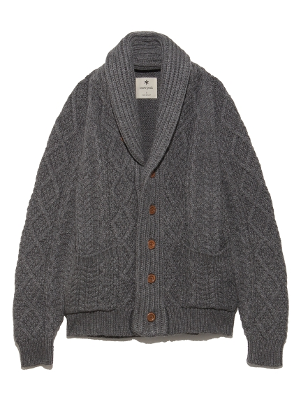 【SnowPeak】Alpaca Knit Cardigan