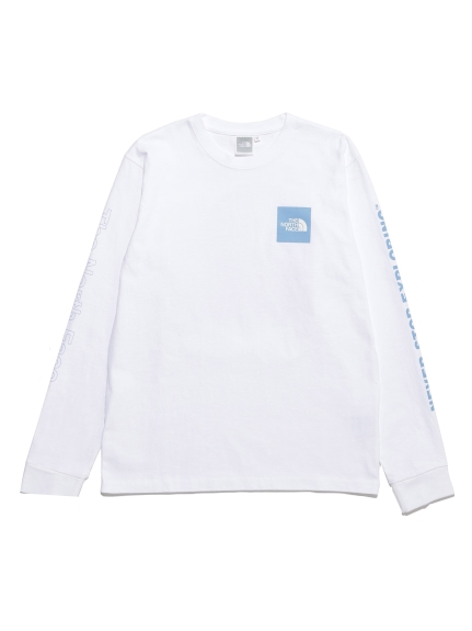 【THE NORTH FACE】L/S SLEEVE GRAPHIC TEE(WHT-M)