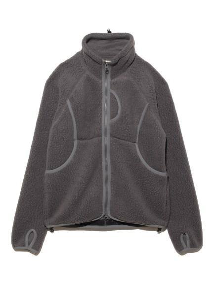 【Snowpeak】Thermal Boa Fleece Jacket(GRY-S)