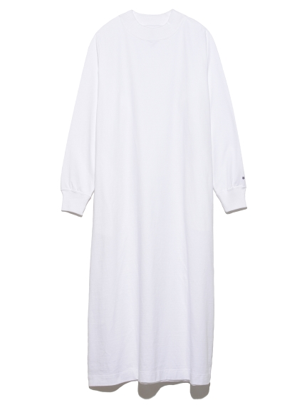 【Snowpeak】HeavyCottonL/S Dress(WHT-M)