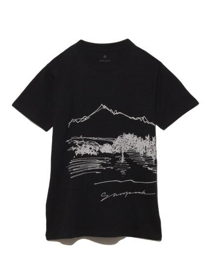 【Snowpeak】CF Graphic Tee(BLK-S)