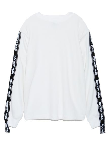 スリーブテープTシャツ(WHT-F)