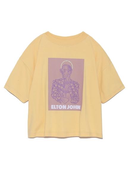 スクエアロゴTシャツ(YEL-F)