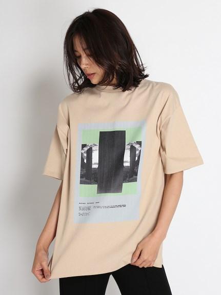 モノリスTシャツ(BEG-F)