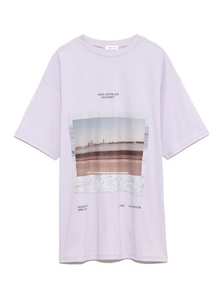 フロントフォトTシャツ(LAV-F)