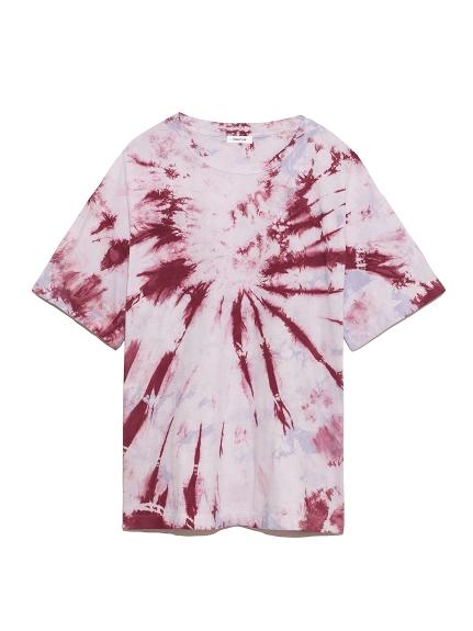 タイダイビッグTシャツ(PNK-F)