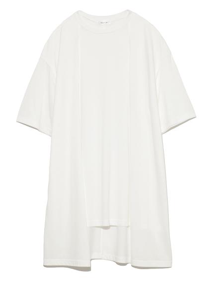 フロントレイヤードTシャツ(WHT-F)