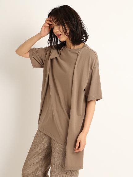 フロントレイヤードTシャツ(BRW-F)
