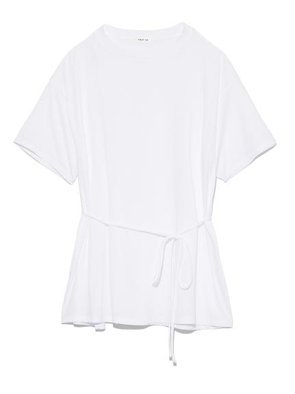 スリットバックタイダイTシャツ(WHT-F)