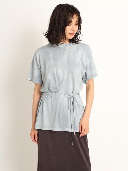 スリットバックタイダイTシャツ(LBLU-F)