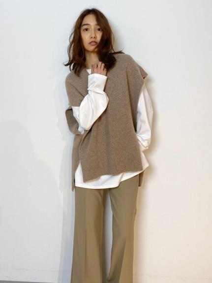 シンプルロングTシャツ(WHT-F)