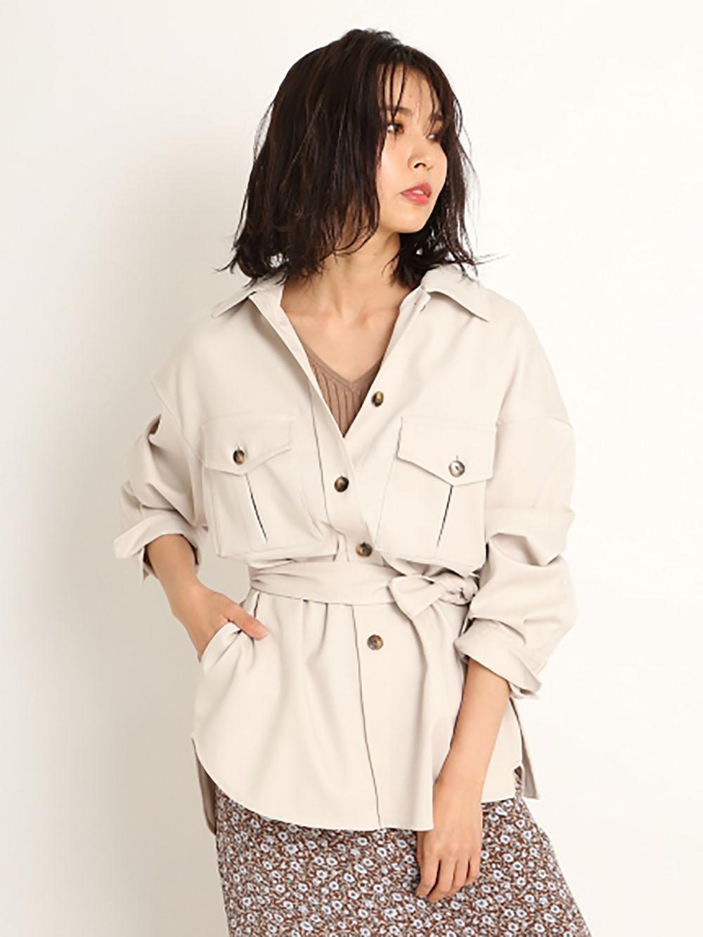 CPOシャツジャケット(IVR-0)