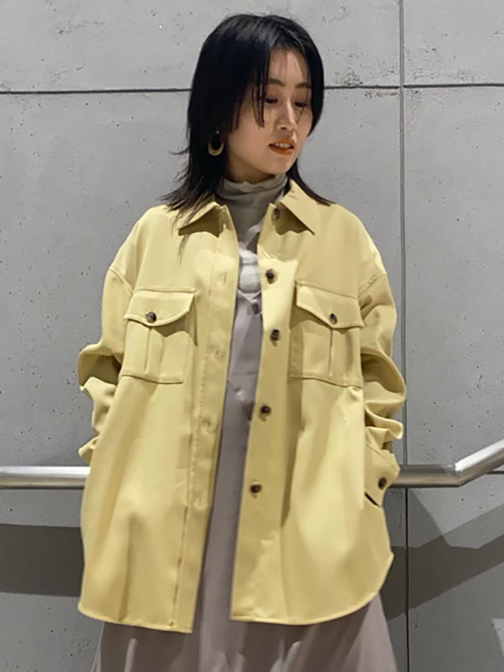 CPOシャツジャケット(YEL-0)