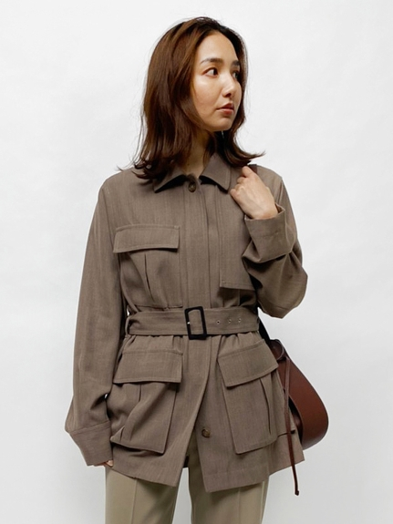 サファリシャツジャケット(MOC-0)