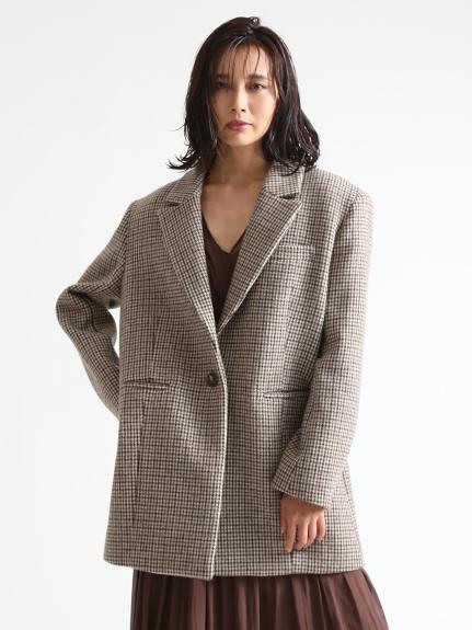 ウールロングジャケット