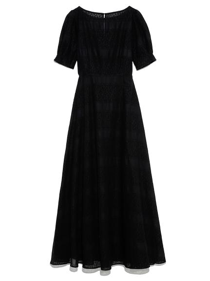 アイレット刺繍ドレス(BLK-0)