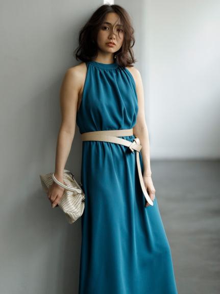 アメスリ ベアバックドレス