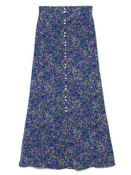 フレアーナロースカート(NVY-0)