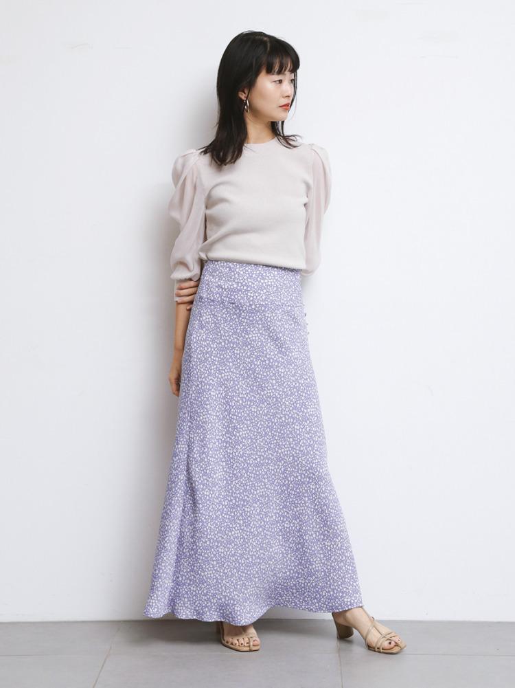 バイヤスナローフラワースカート