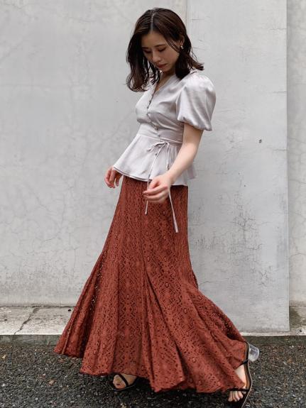 マーメイドレーススカート
