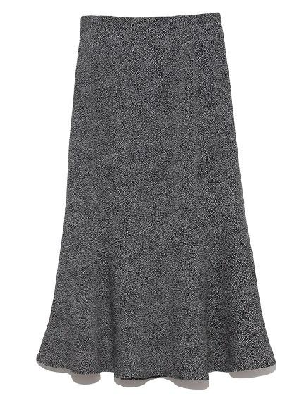 ジャガードドットスカート(BLK-0)