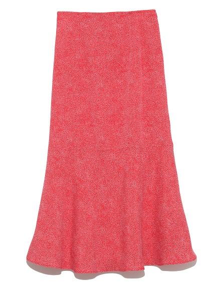 ジャガードドットスカート(RED-0)