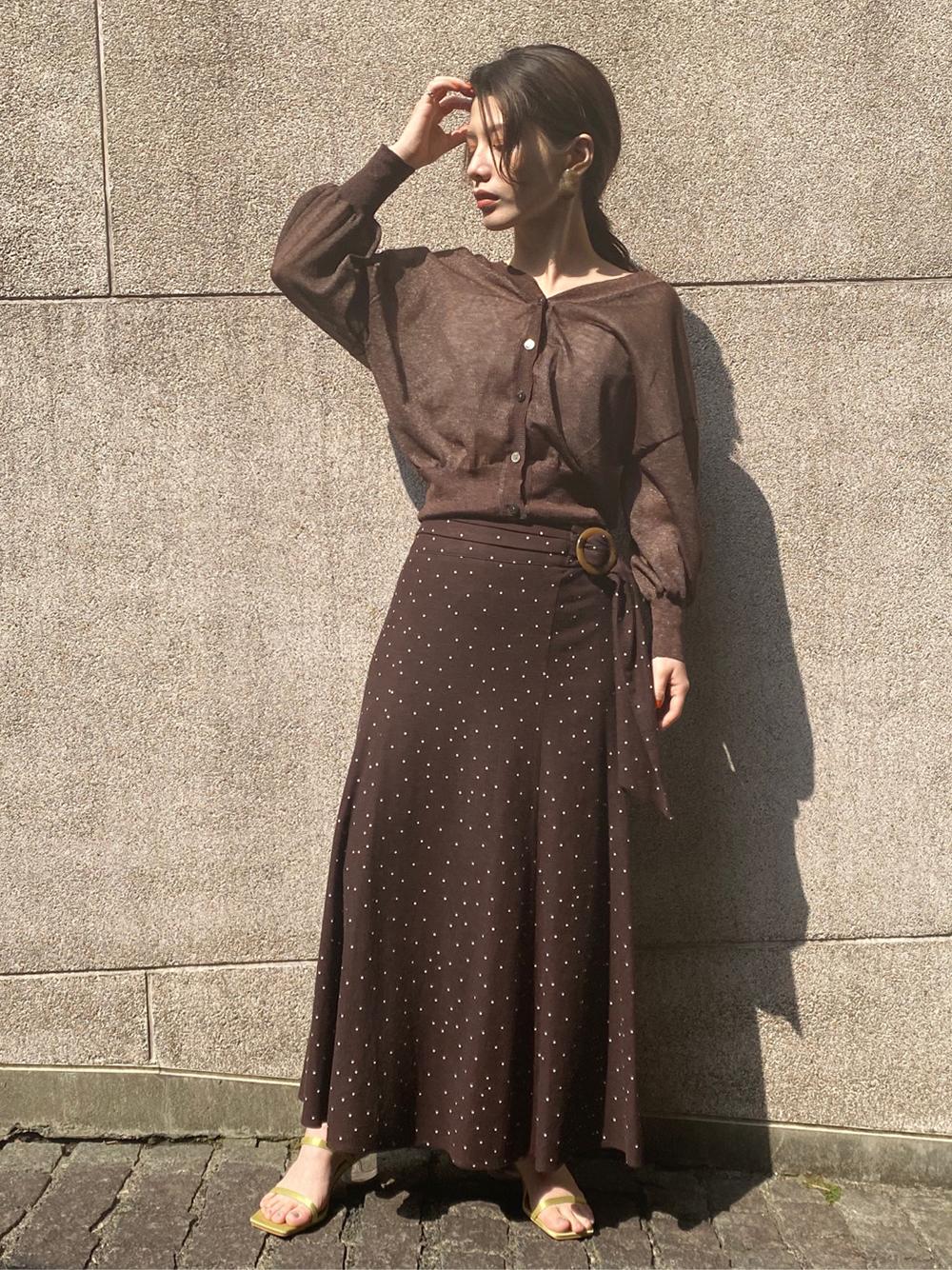 リネンナロースカート(BRW-0)