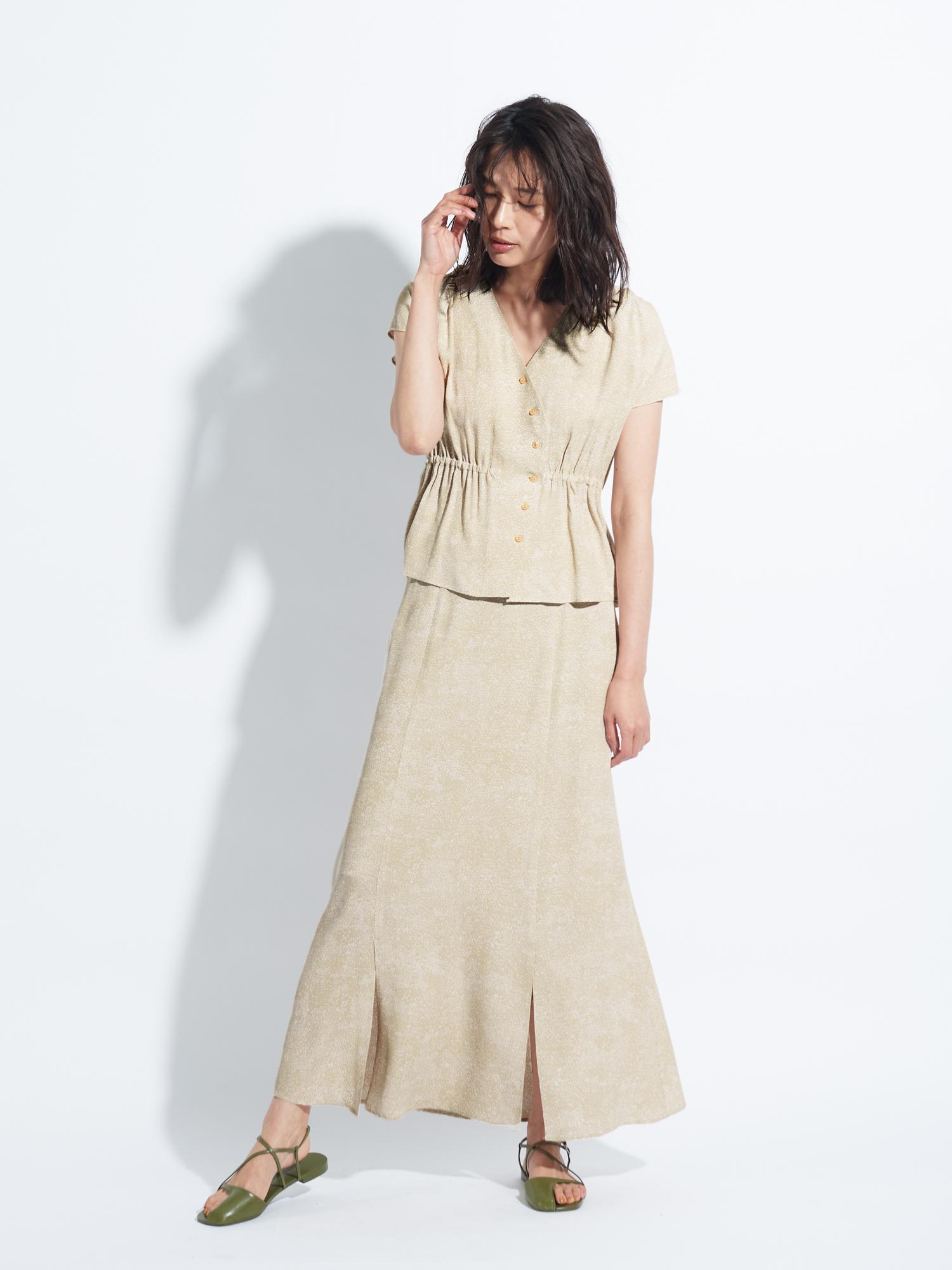 アニマルドットスカート
