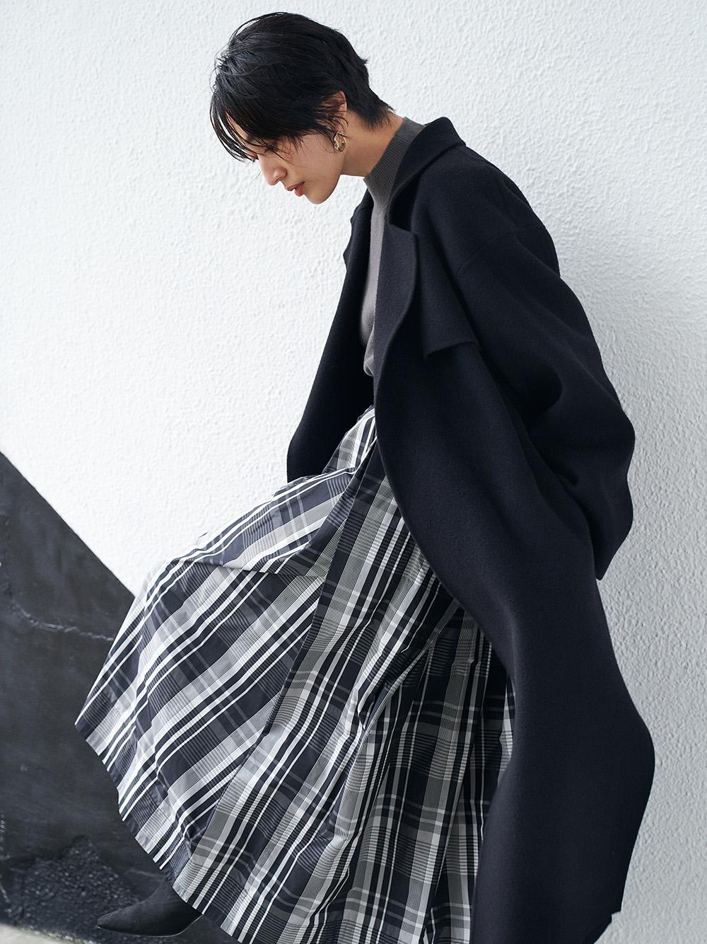 リボンタフタスカート