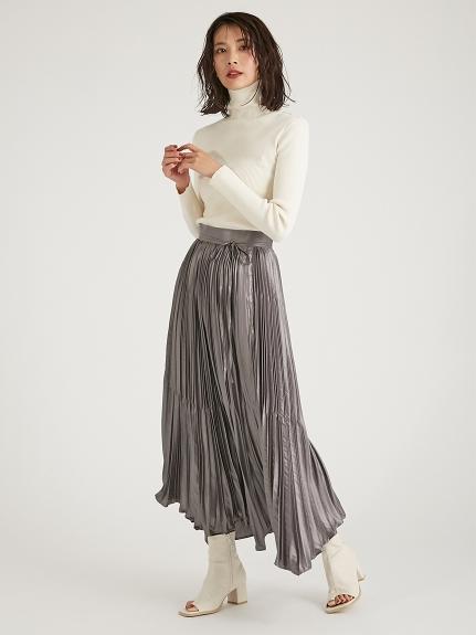 割繊チンツプリーツスカート(KKI-0)