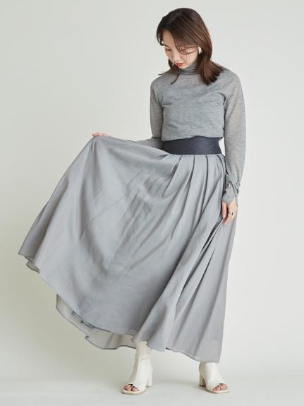 シルクコットンマキシスカート