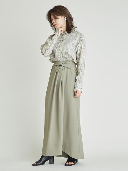 ツイストデザインスカート(KKI-0)