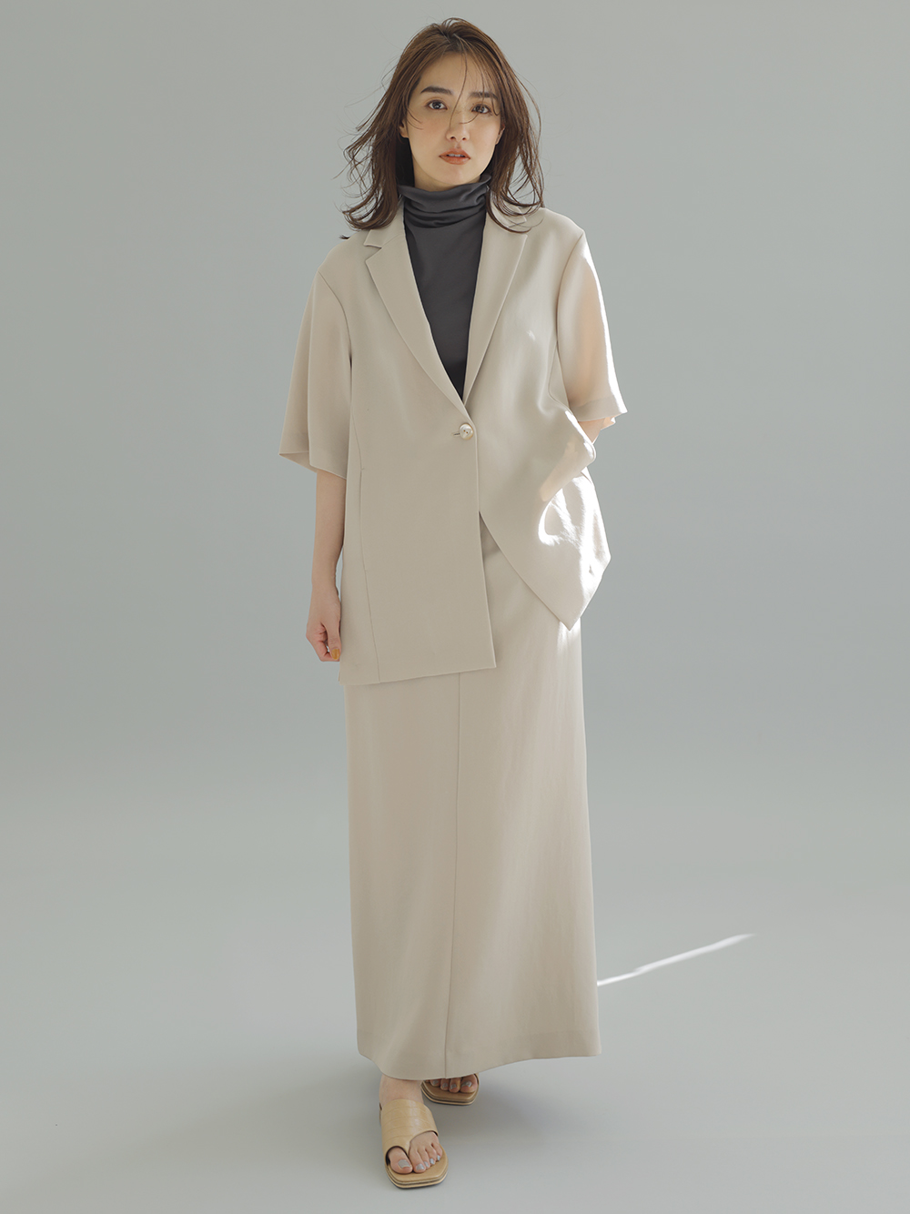 ラチネタイトスカート(BEG-0)