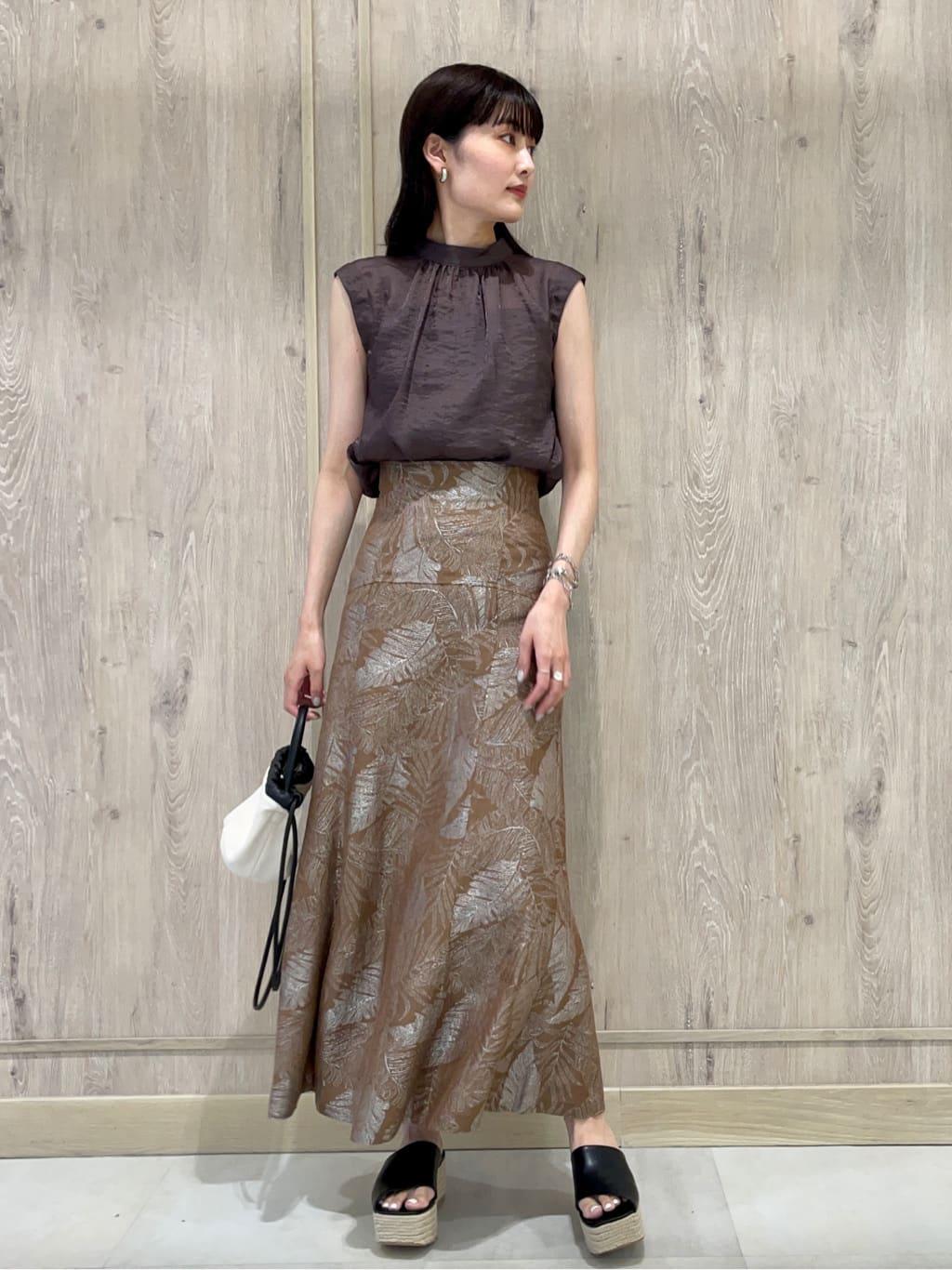 リーフジャガードナロースカート(BRW-0)