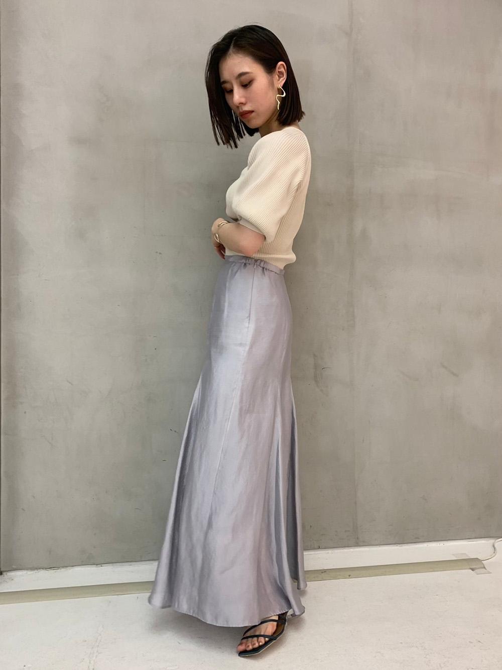 シアーフレアースカート(BLU-0)