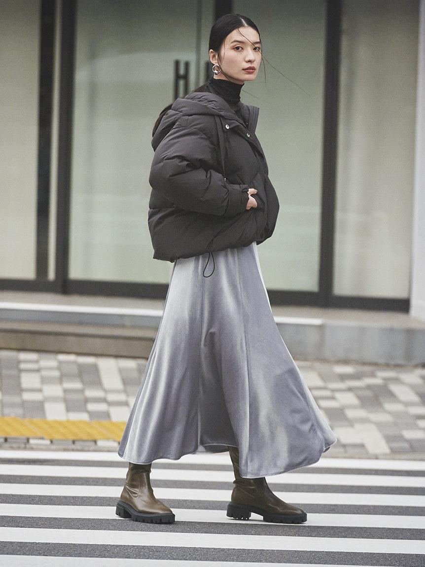 ベロアマキシナロースカート(MNT-0)